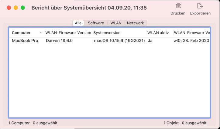 Software-Suchfenster