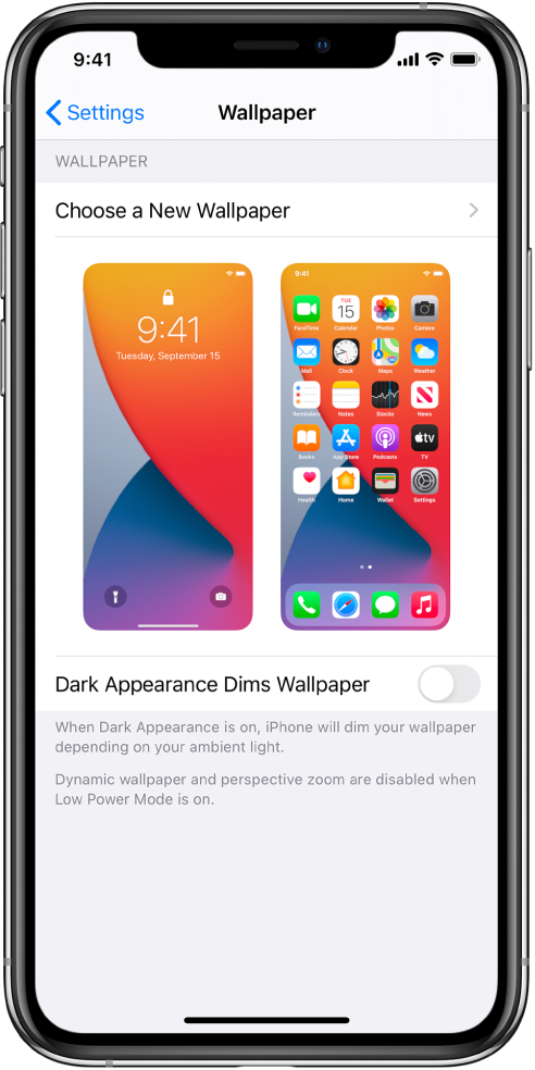 Change The Wallpaper On Iphone Apple Support