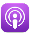the Podcasts app icon