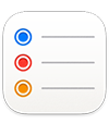 the Reminders app icon