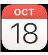 the Calendar app icon