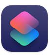 the Shortcuts app icon