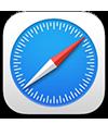 the Safari app icon
