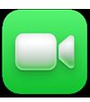 ícone do app FaceTime