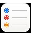 ícone do app Lembretes