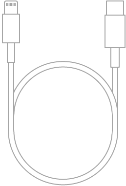 The Lightning to USB-C Cable.