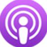 "Piktograma ""Podcasts"""