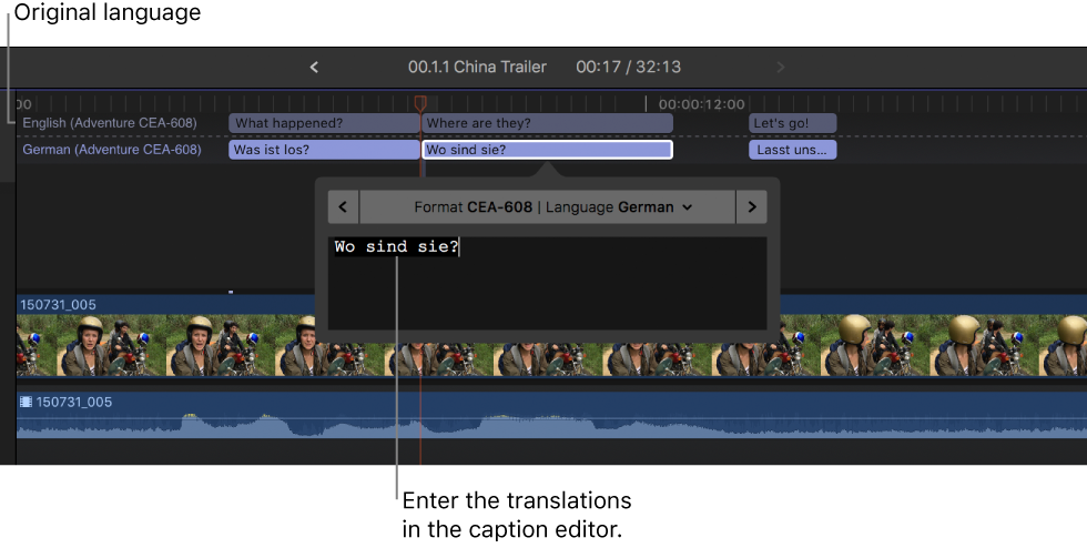 How to Add Captions and Subtitles in Final Cut Pro X - Rev