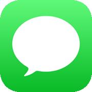 Icono de la App de Mensajes para iPhone