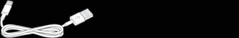 Il cavo da Lightning a USB