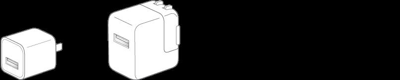 L'alimentatore di corrente USB.