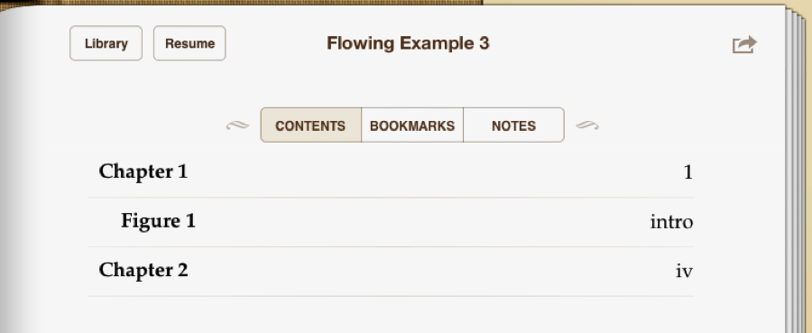 image of page-list in ePUB 3