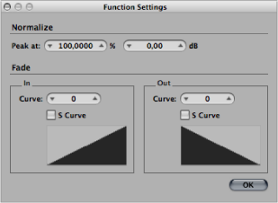 logic pro how to create fade