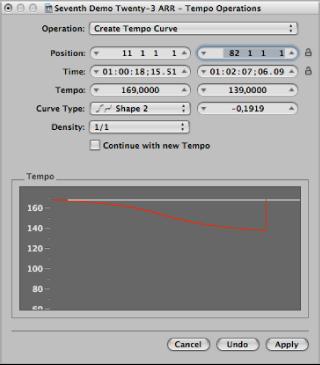 How to change metronome speed logic pro 9